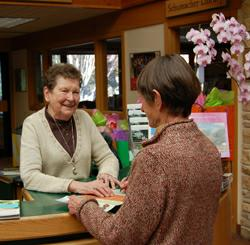 RSVP Volunteer at Olbrich Information Desk